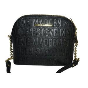 STEVE MADDEN BMARYLIN LOGO CROSSBODY BAG BLACK F